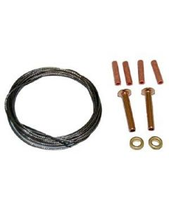 .027 x 7 ft. 2-line 125# Leadout Wire Kit