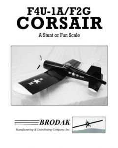 Corsair Instruction Book (for the Brodak CLB-29)