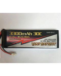 Lipo Battery 3S x 3300 mAh (Super Clown)