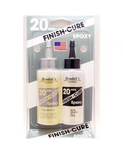 Finish-Cure 20 Minute Epoxy 4 1/2 ounce
