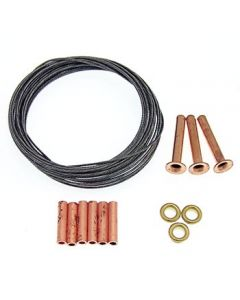 .027 x 10 ft. 3-line 125# Leadout Wire Kit