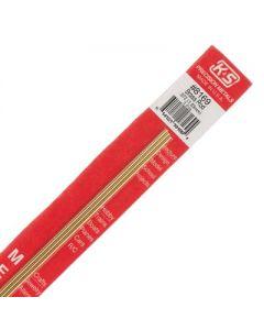 Round Solid Brass Rod (.072)