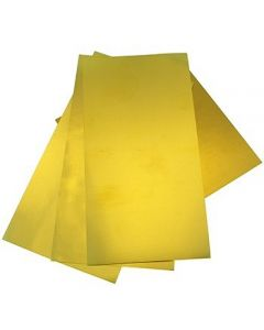 Brass Sheets of Assorted Shims