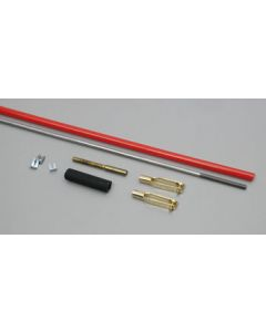Gold n Clevis Solid Pushrod 4-40 x 36""