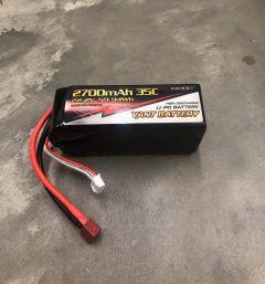 Lipo Battery 22.2 Volt x 2700 mAh