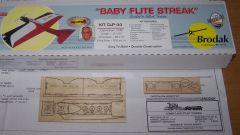 Baby Flite Streak Electric Conversion