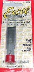 """Excel 1/2"""" Large Chisel Blades"""