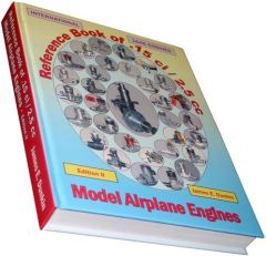 Book of Model Airplane Engines (.15ci / 2.5cc) Hardcover