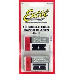 Excel Single Edge Blades (10 pack)