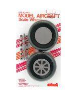 "Scale Diamond Tread Wheels 2"" diameter"