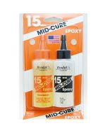 Mid-Cure 15 Minute Epoxy 4 1/2 ounce